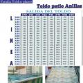 TOLDO PATIO ANILLAS
